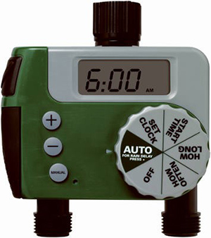 we can install professional sprinkler timers